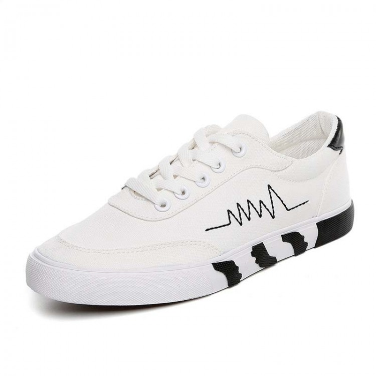 Heartbeat canvas sneaker
