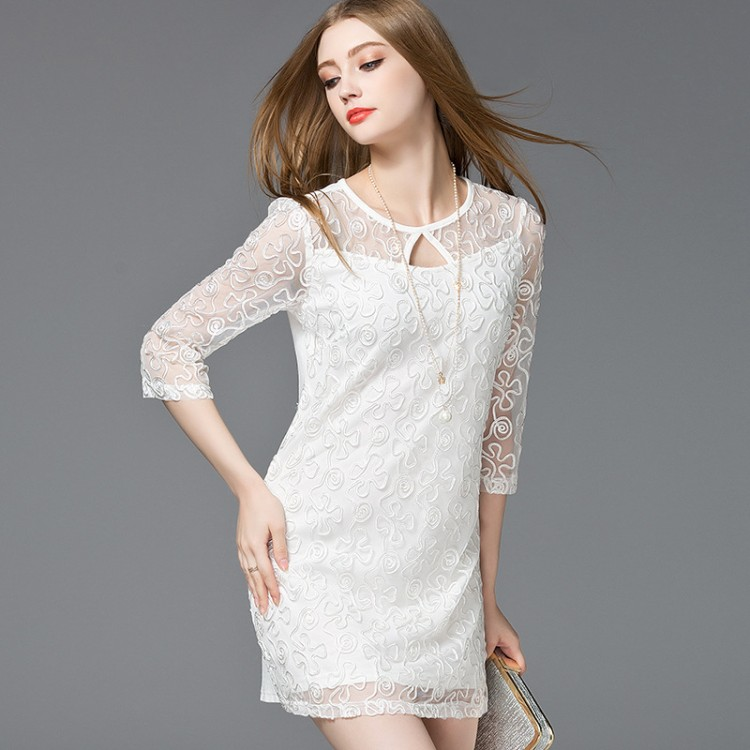 Autumn New Lace Dress
