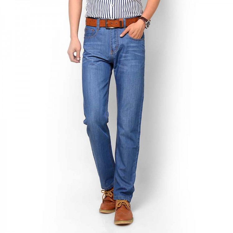 Men's Jeans High Rise Straight Jeans
