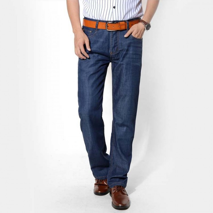 Men's Jeans Straight Loose Jeans