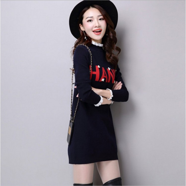 """Hane"" sweater dress"