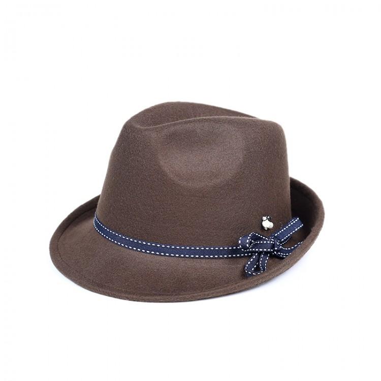 Woven felt panama hat