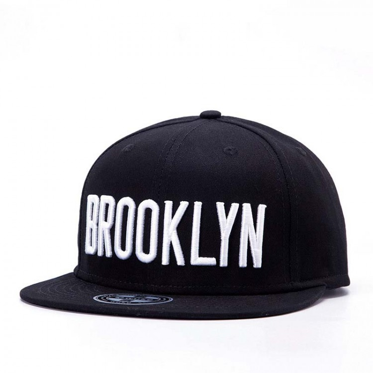 Hip Hop Hat With A Straight Visor Baseball Cap Letters