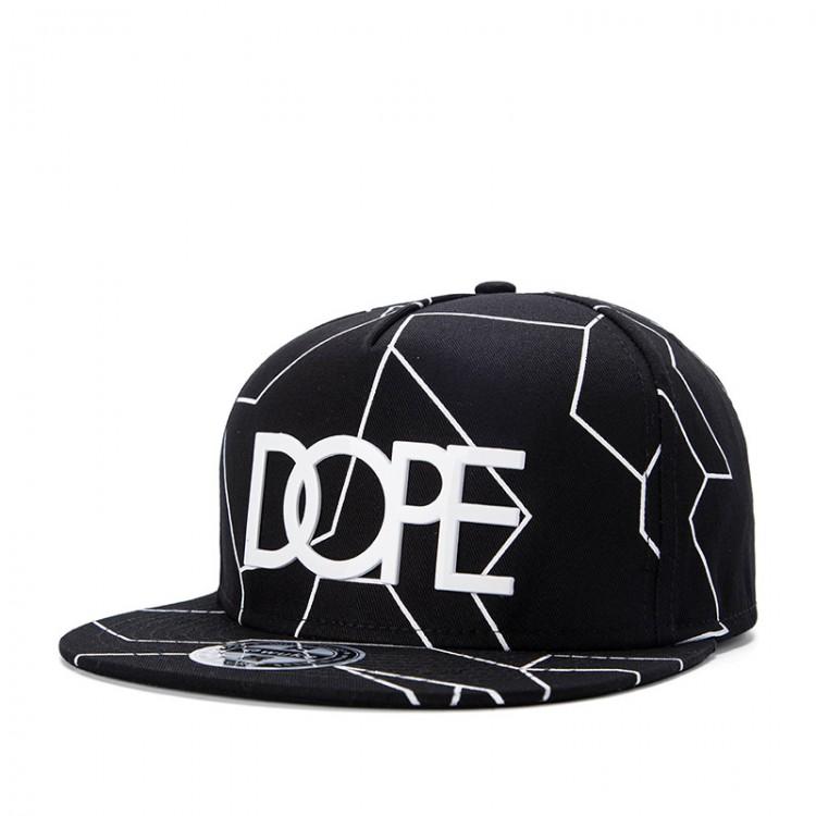 Hip Hop Hat With A Straight Visor Baseball Cap