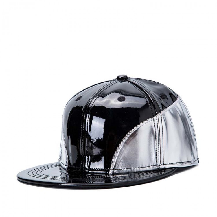 Hip Hop Hat With A Straight Visor Baseball Cap Modernity
