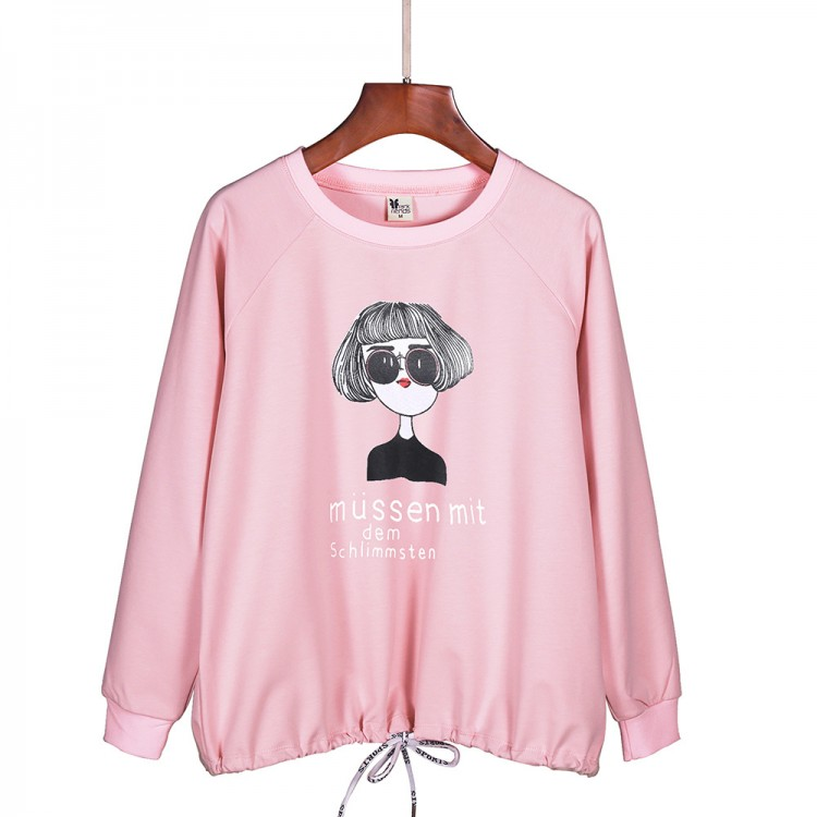 Cartoon character sweatershirt