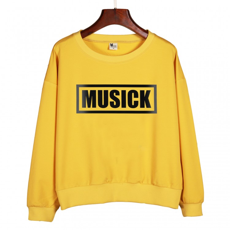 Letters sweatershirt