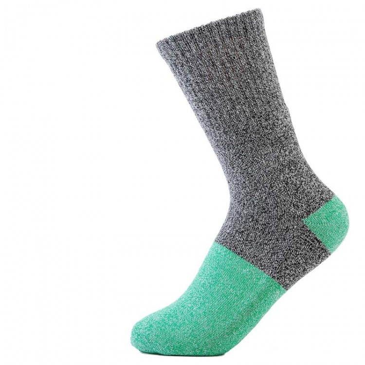 Autumn Winter Patchwork Thick Cotton Warm Men's Socks