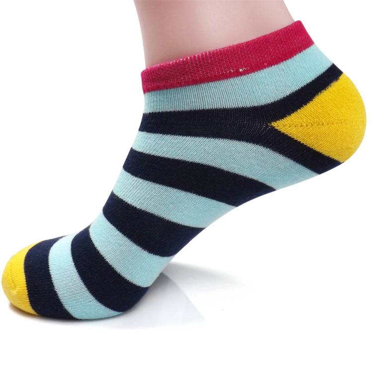 Men's Cotton Striped Socks