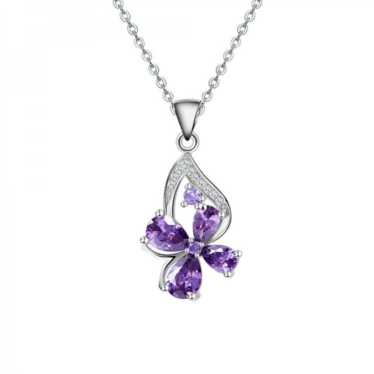 Clover necklace pendant S925