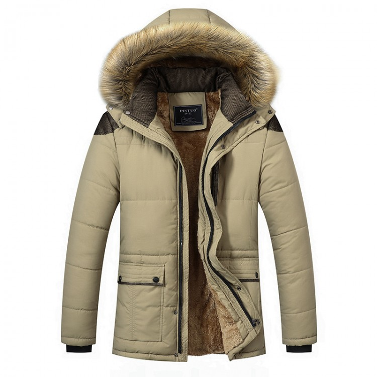 Fur hood sherpa jacket