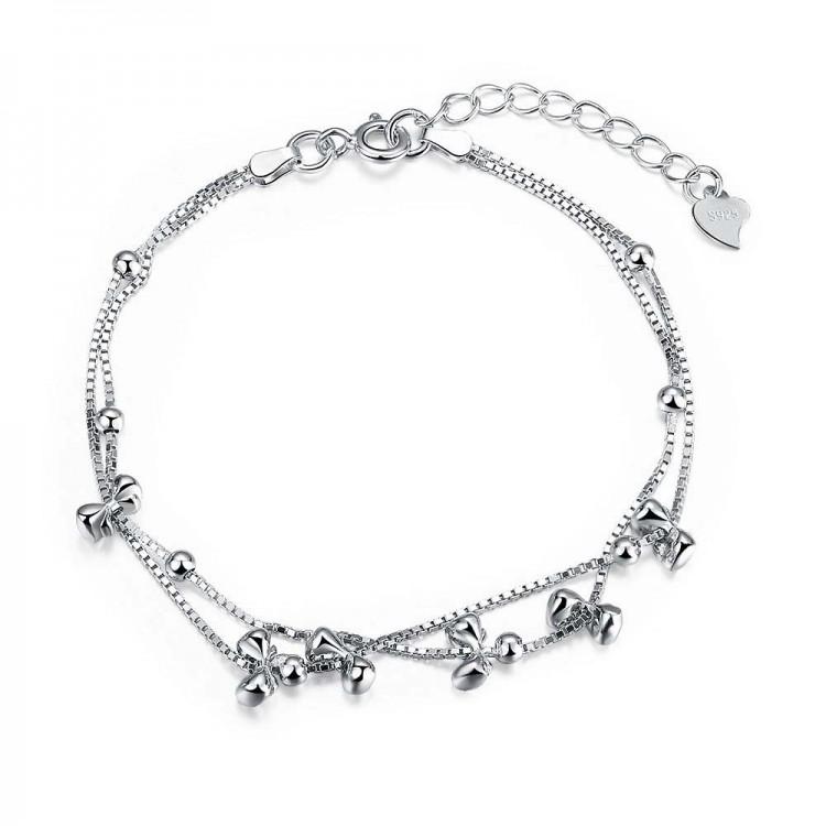 Silver Zircon Bracelet