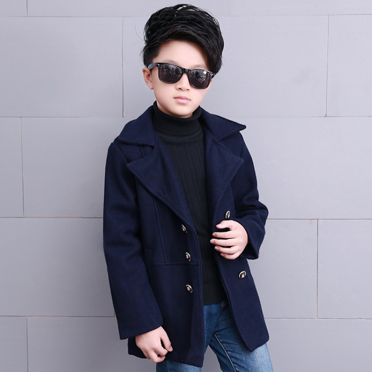 Winter peacoat