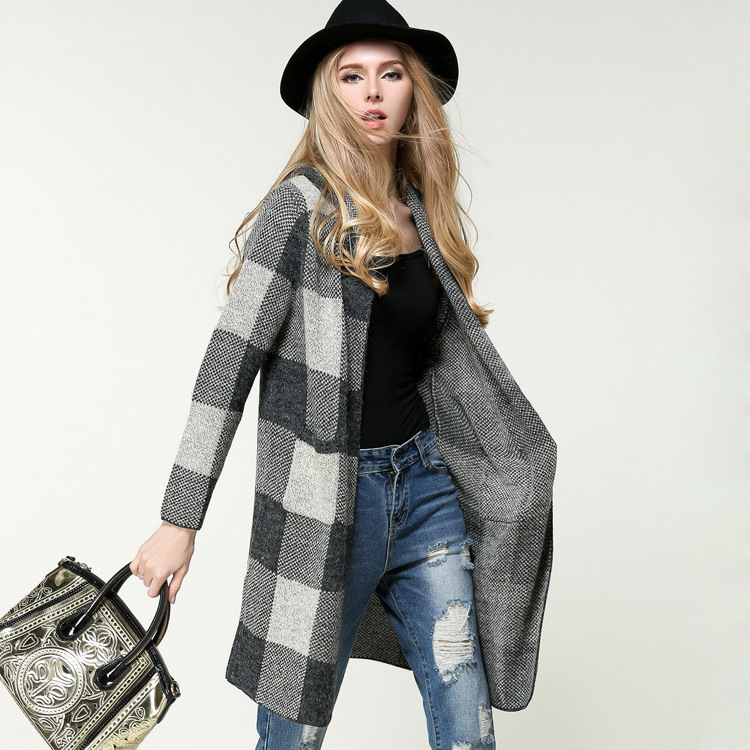 Women's Knit Coat