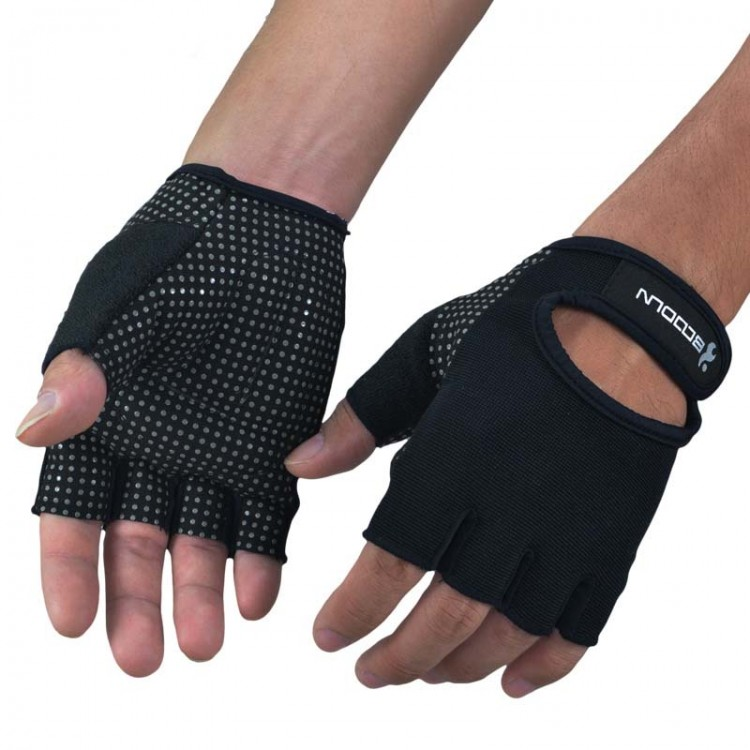 Men's Gym Wearable Non-slip Gloves Sports Fitness Gloves Weightlifting Rally Training Equipment