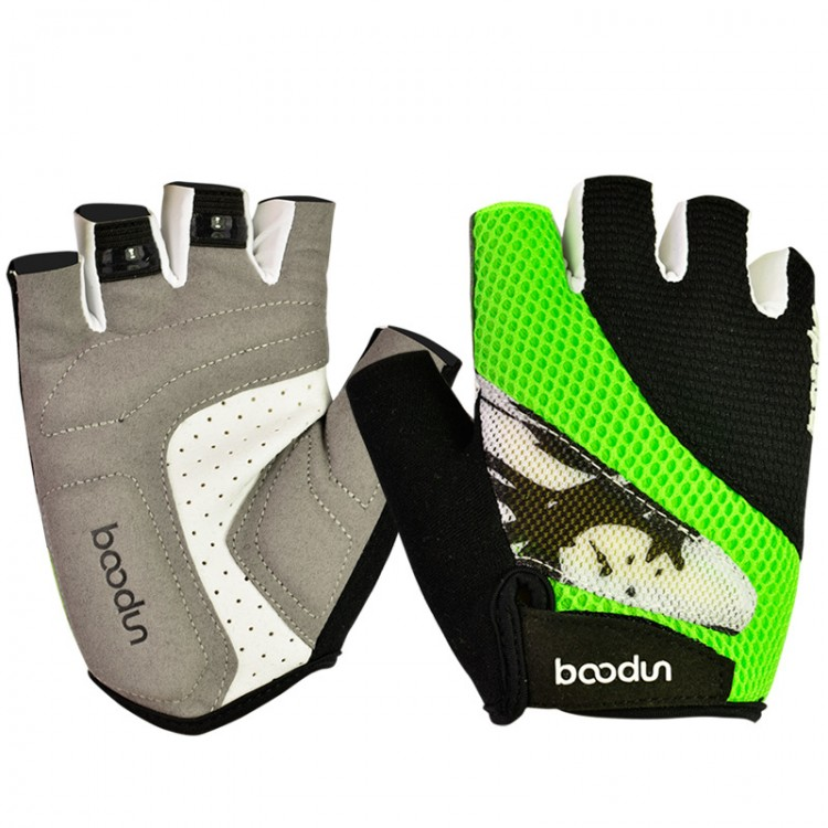 Men and Women Slip Resistant Breathable Bicycles Gloves Half Finger Gloves For Mountain Biking
