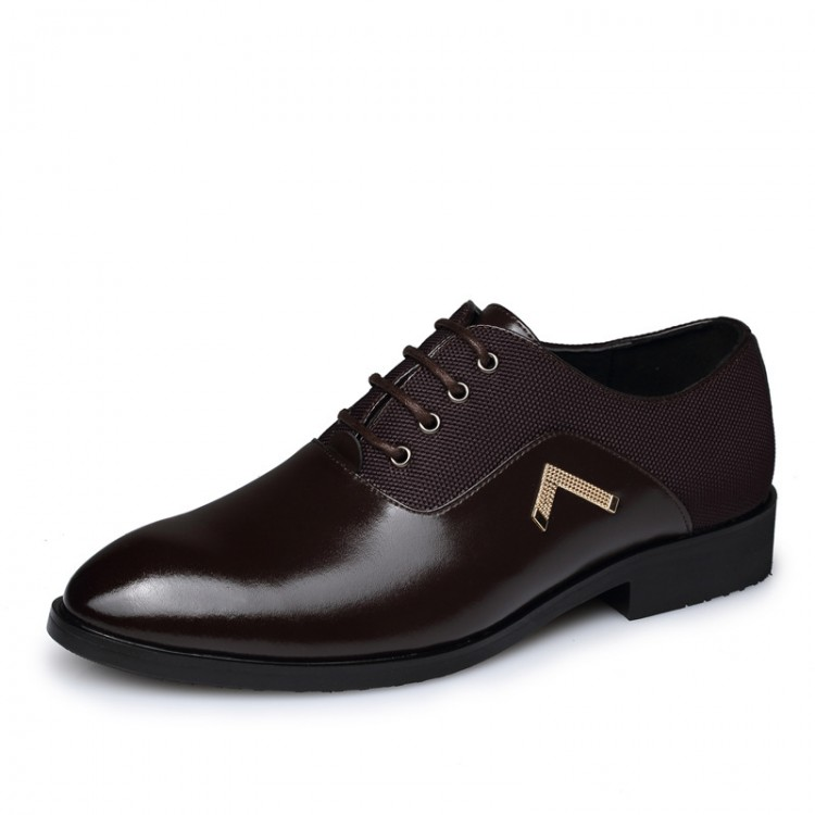 Men's Dress Shoes Leather Shoes Lace Up