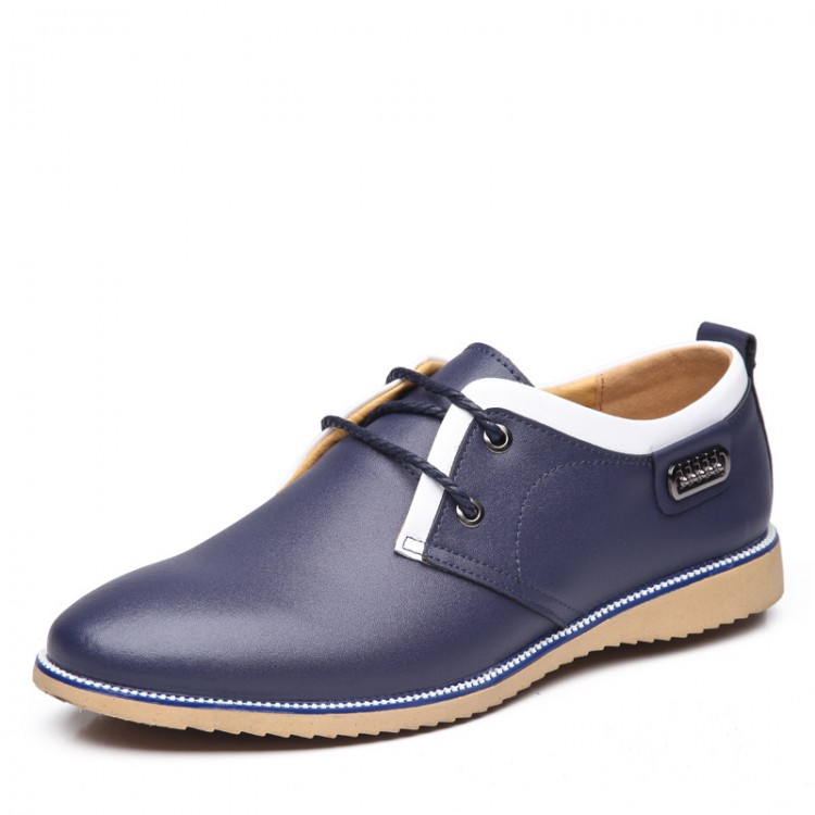 Men's Casual Leather Shoes Low-help