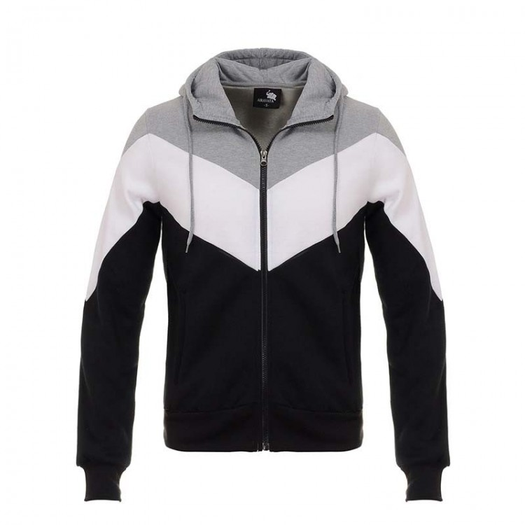 men's color-blocked hoodie sportswear