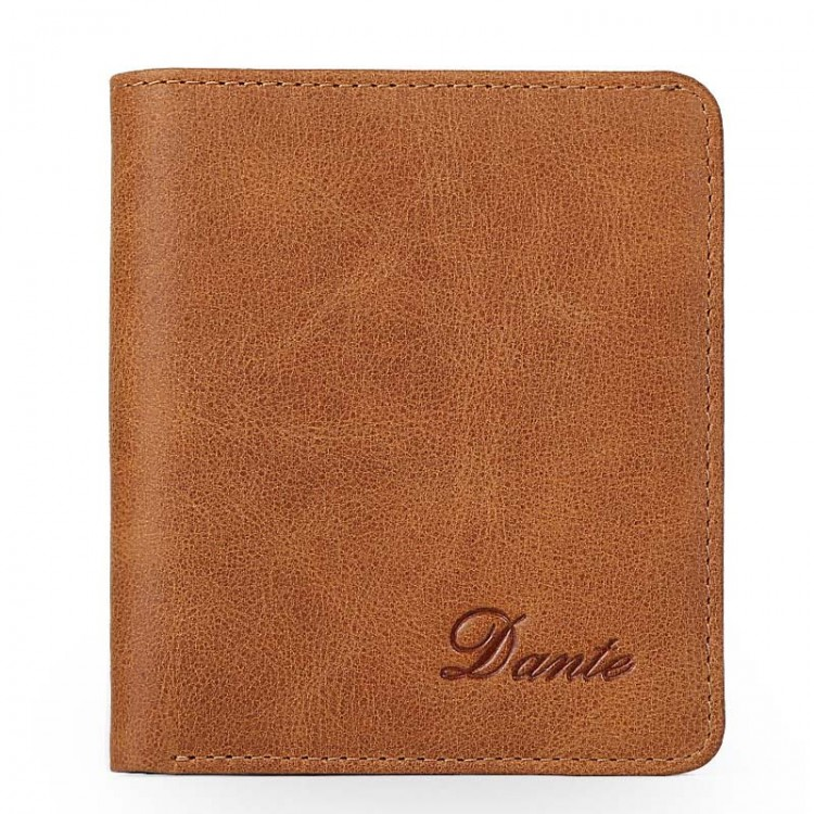 Leather Folding Wallet Bifold