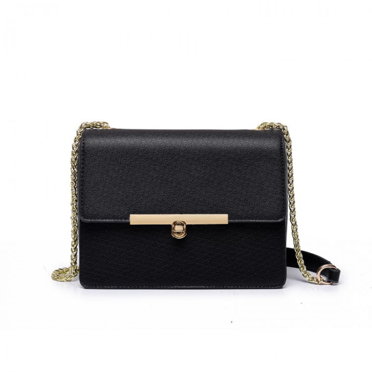Faux leather mini bag