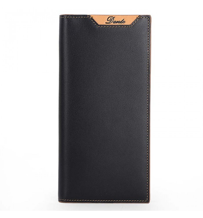 Grainy Leather Wallet Bifold