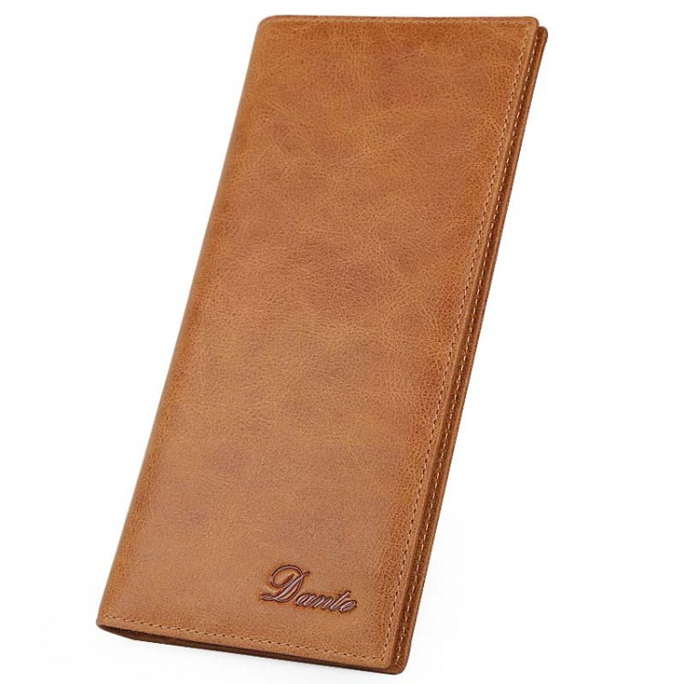 Leather Wallet Bifold Ultrathin Retro